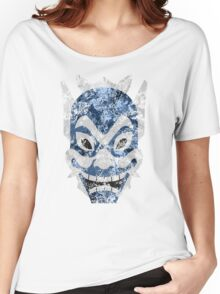 Blue Spirit Splatter Women's Relaxed Fit T-Shirt