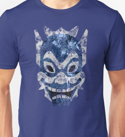 Blue Spirit Splatter Unisex T-Shirt