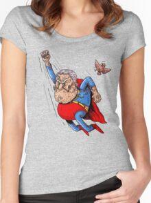 Super Oldman Women's Fitted Scoop T-Shirt