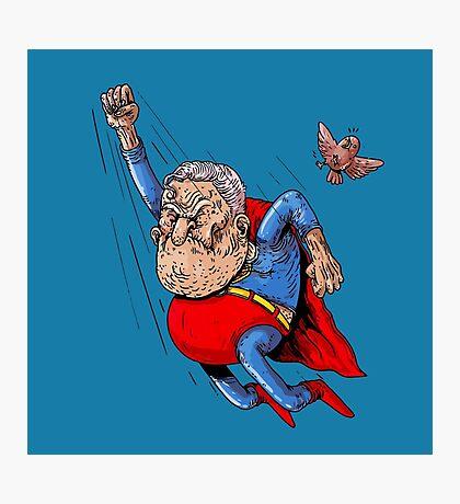 Super Oldman Photographic Print