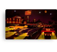 The Big 3 Street Racing Canvas Print