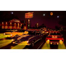 The Big 3 Street Racing Photographic Print