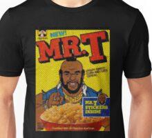 1980's Mr. T Cereal- original mosaic design cereal shaped.  Unisex T-Shirt