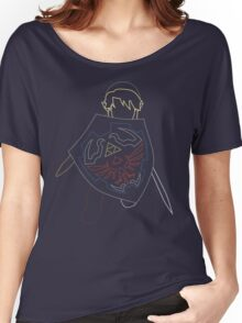 Simplistic Link Women's Relaxed Fit T-Shirt