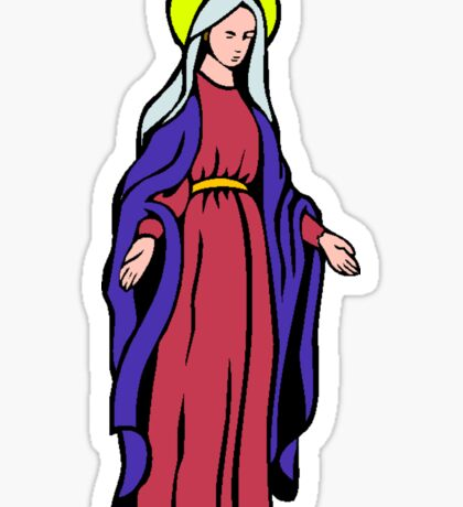 VIRGIN MARY-2 Sticker