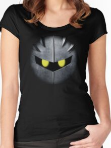 Meta Knight Mask Women's Fitted Scoop T-Shirt