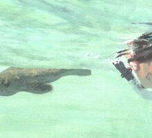 Sea Wolf and Friend Sticker