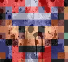 16-Bit Red Splatter Sticker