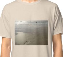 footprints in the sand Classic T-Shirt
