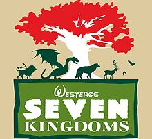 The Seven Kingdoms by moysche
