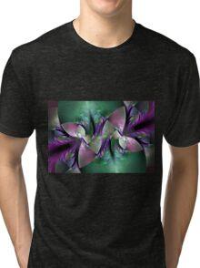 Crystal leaves Tri-blend T-Shirt