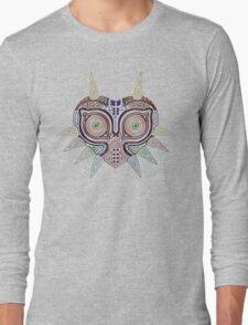 Ornate Majora's Mask Long Sleeve T-Shirt