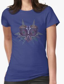 Ornate Majora's Mask Womens Fitted T-Shirt