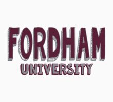 Fordham University One Piece - Short Sleeve