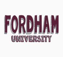 Fordham University Kids Tee