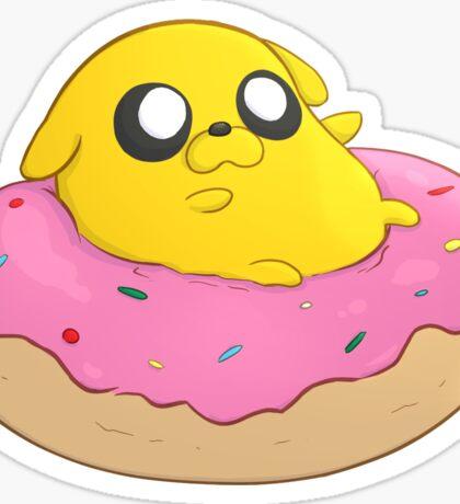 Jake's Doughnut Sticker