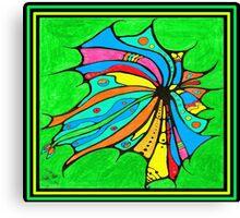 FlutterBy Transparent Overlay Canvas Print
