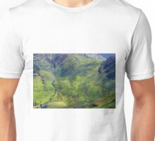 Side Pike From Stickle Ghyll, Great Langdale,Lake District Unisex T-Shirt