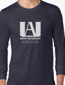 U.A. High Plus Ultra logo - (My Hero Academia, Boku no Hero Academia, BNHA) Long Sleeve T-Shirt