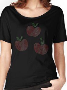 Ornate Applejack Cutie Mark Women's Relaxed Fit T-Shirt