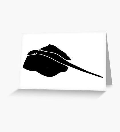 Lay Ray  Greeting Card