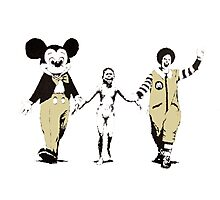 Banksy - Napalm Photographic Print