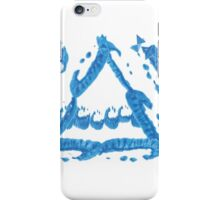 FOUR ELEMENTS PLUS ONE H  - troubled waters iPhone Case/Skin