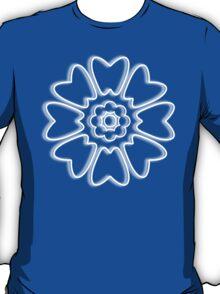 Minimalist White Lotus T-Shirt