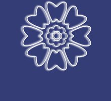 Minimalist White Lotus Unisex T-Shirt