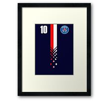 Paris Saint-Germain Design - Alternate Version Framed Print