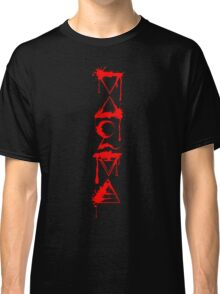 FOUR ELEMENTS PLUS ONE V  - red splat Classic T-Shirt