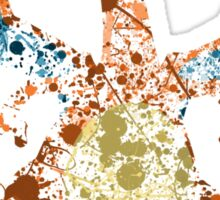 Charizard Splatter Sticker