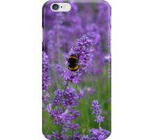 Lavender with bumble bee iPhone Case/Skin
