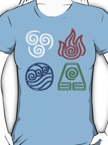 Four Elements Minimalist T-Shirt