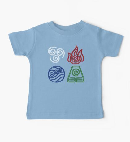 Four Elements Minimalist Baby Tee