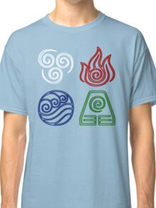 Four Elements Minimalist Classic T-Shirt