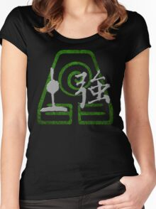 Earthbending Women's Fitted Scoop T-Shirt