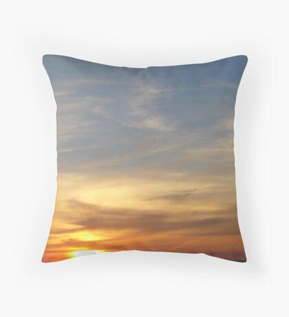 Connemara Sunset  Throw Pillow