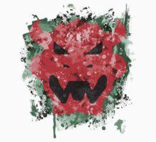 Bowser Emblem Splatter Kids Clothes