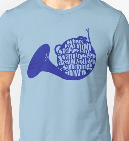 How I Met Your Mother Blue French Horn Unisex T-Shirt
