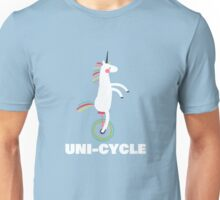 Unicorn on Unicycle T-Shirt Unisex T-Shirt
