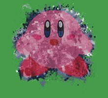 Kirby Splatter Kids Clothes