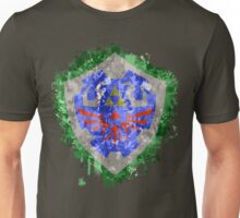 Hylian Shield Splatter Unisex T-Shirt