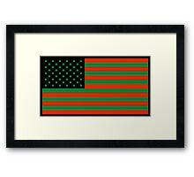 Pan-African American Flag 2 Framed Print