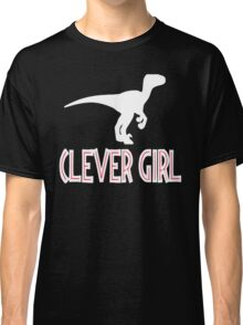 Jurassic Park Quote - Clever Girl Classic T-Shirt