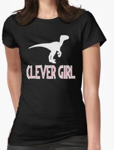 Jurassic Park Quote - Clever Girl Womens Fitted T-Shirt