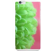 Macro Green Flower iPhone Case/Skin
