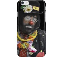 Clown Portrait iPhone Case/Skin