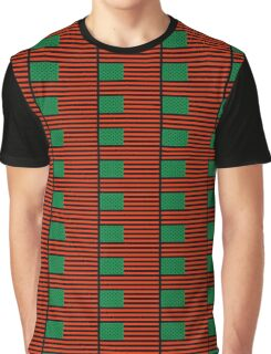 Pan-African American Flag 4 Graphic T-Shirt