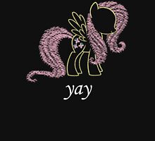 Sprayed Fluttershy (yay Edition) Unisex T-Shirt